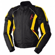 Мотокуртка IXS Salem Black-Yellow S